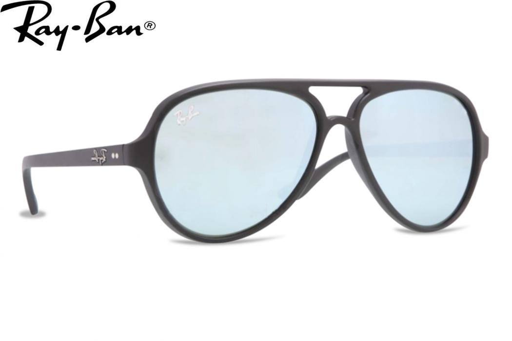 Black Lens Ray Bans
