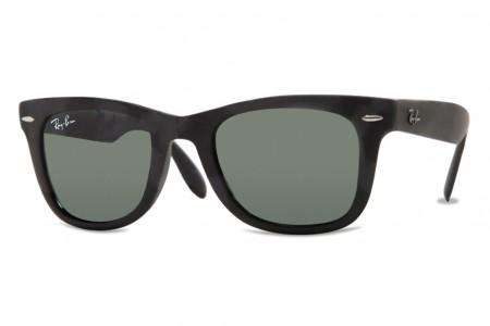 b7bbbf22e5 Ray Ban RB 4105 Folding Wayfarer Small - Lunettes de soleil homme vue -  Homme - Sunglasses