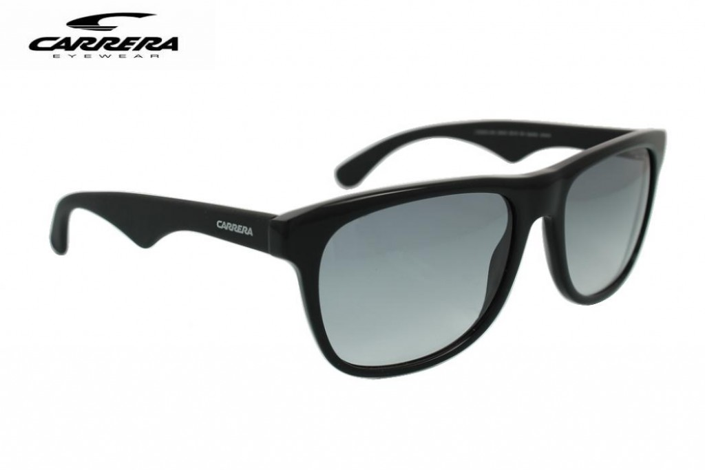 Lunettes de soleil Carrera 6003-64H VK 55mm Noir brillant mat - Gwele a4530a4ac0b5