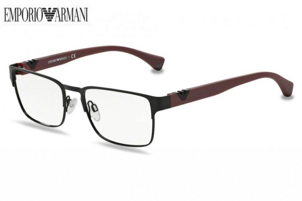 459ab48ed5 Lunettes de vue Emporio Armani EA 1027 Large-3014 55mm Black - Gweleo