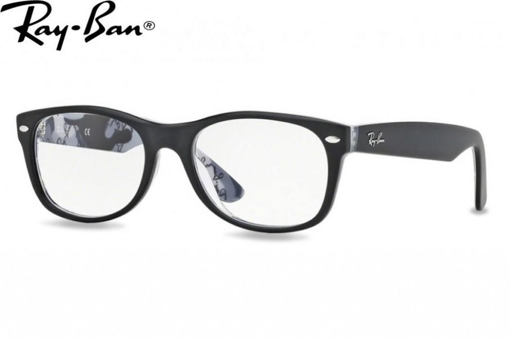 Lunettes de vue Ray Ban New Wayfarer RX 5184 5407 52mm Top