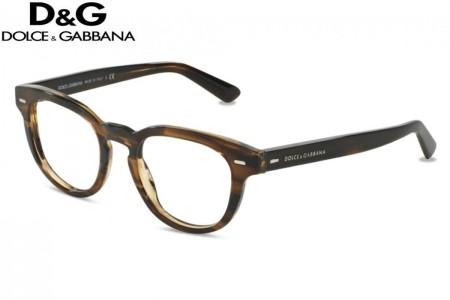 d870f74fad2f2e Lunettes de vue Dolce   Gabbana DG 3225-2925 48mm STRIPED TOBACO - Gwe