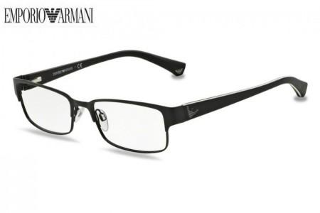 1b0d4f526c Lunettes de vue Emporio Armani EA 1036-3109 53mm Matte Black - Gweleo