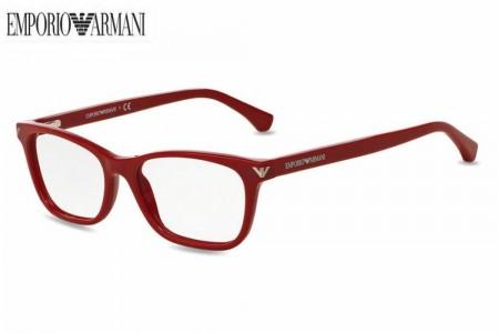 Emporio Armani Montures de lunettes Pour Femme 3073 - 5456: Red - 52mm wZTcwhSJk