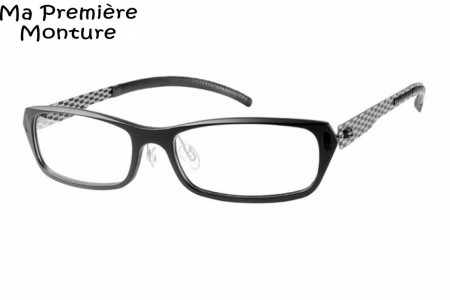 0b32e9ab69404 Lunettes de vue Ma 1ère Monture - A143-0 52mm Noir - Gweleo