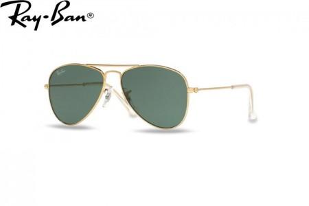 b8648fdfea19d Lunettes de soleil Ray Ban Junior RJ 9506-223 71 50mm Gold - Gweleo