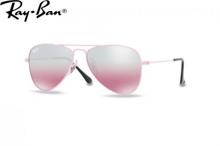 32825168e3f Lunettes de soleil Ray Ban Junior RJ 9506-211 7E 50mm Pink - Gweleo