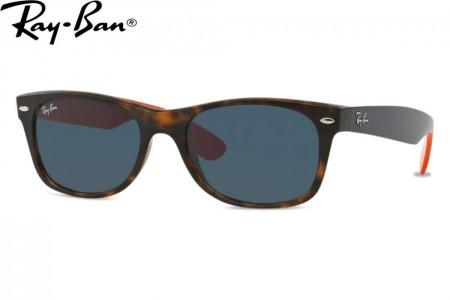 ec391636b6 Lunettes de soleil Ray Ban New Wayfarer RB 2132-6180R5 52mm Matte hava