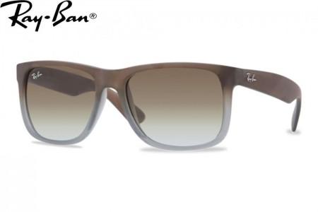 983fe2d86d5dfe Lunettes de soleil Ray Ban Justin RB 4165-8547Z 55mm Noir - Gweleo