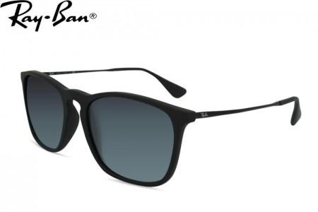 Lunettes de soleil Ray Ban RB 4187-622 8G 54mm Rubber black - Gweleo 29adcd1f8f9d