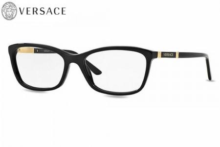 fee1e16ca79b Lunettes de vue Versace VE 3186-GB1 52mm Black - Gweleo