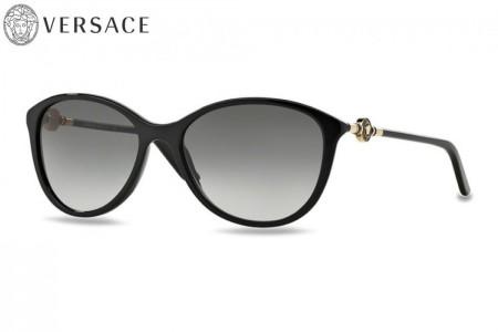 f5648348f6a780 Lunettes de soleil Versace VE 4251-GB1 11 57mm Noir - Gweleo
