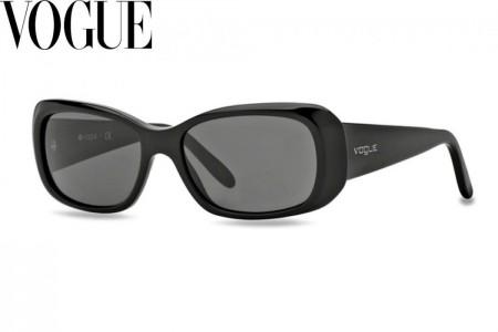 58db1396cf9ad Lunettes de soleil Vogue VO2606S-W44 87 55mm Noir - Gweleo