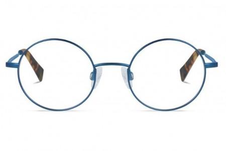 Lunettes de vue Alistair 45mm BTT17 Brushed Blue Titanium - vue de face