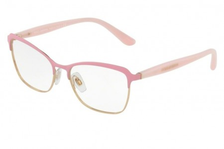 Lunettes de vue Dolce Gabbana DG 1286-1304 53mm Matte Pink Pink Gold - a68d2bae3d92