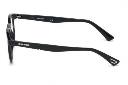 Lunettes de vue Diesel DL5301 001 - Noir - vue de profil