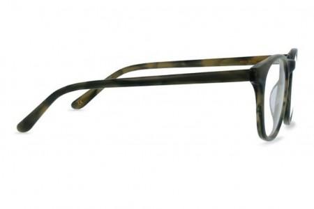 Lunettes de vue Battatura Emilio 48mm Misty Wood - profil