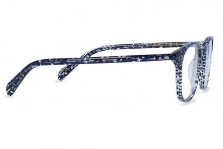 Lunettes de vue Jeack and Francis Glendale 46mm Blackish Blue - vue de profil
