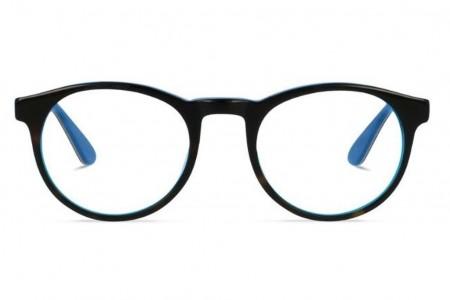 Lunettes de vue Jack & Francis Jacky 48mm Tortoise and Bleu de France - vue de face