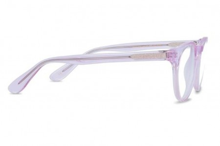 Lunettes de vue Jack & Francis Mack 47mm Crystal rose - vue de profil