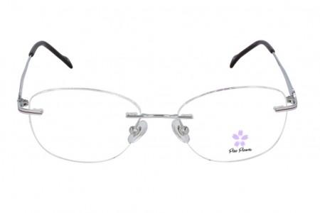 Lunettes de vue Fléo Jij - 51mm - Violet - vue de face
