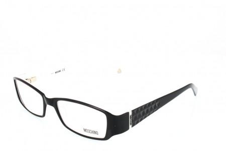 04de6062983b89 Lunettes de vue Moschino MO033-01 51mm Noir Blanc - Gweleo