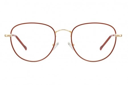 Lunettes de vue Ma 1ère Monture MPM918 - 52mm - Soft pink gold / Red - vue de face