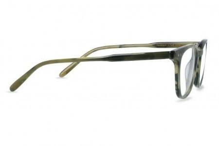 Lunettes de vue Battatura Ottavio 46mm Misty Wood - Profil