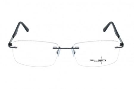 Lunettes de vue Fléo Ragnard - 60mm - Gris - vue de face