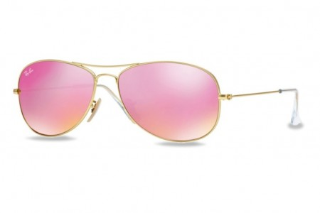 lunette ray ban femme rose gold