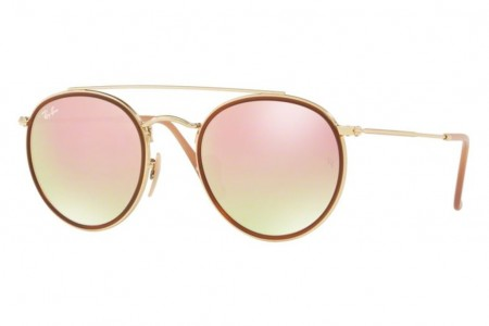 d433cac7e7 Lunettes de soleil Ray-Ban RB 3647N-001/7O 51mm Gold/pink - Gweleo