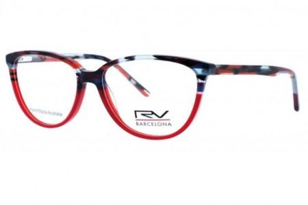 Lunettes de vue H.Mahéo RV351-C1 53mm Bicolore rouge - Gweleo d126c547e85f