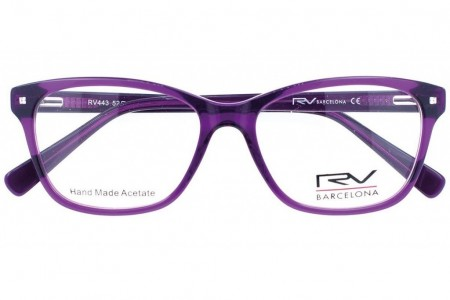 Lunettes de vue h.Mahéo RV443 - 52mm - Violet - vue de face