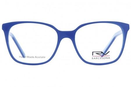 Lunettes de vue H.Mahéo RV542 51mm - Bleu - vue face