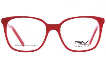 Lunettes de vue H.Mahéo RV542 51mm - Rouge - vue face