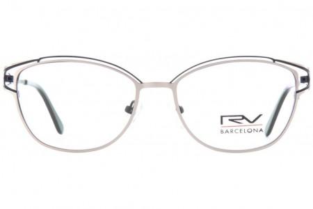 Lunettes de vue h.Mahéo RV643 - 53mm - Gris/Marron - vue de face