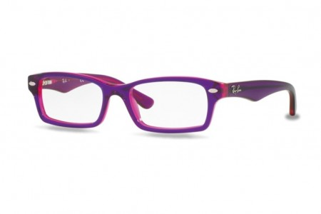 ec4df1d6d61b72 Lunettes de vue Ray-Ban Junior RY1530 Small-3666 46mm Top Violet On Fu