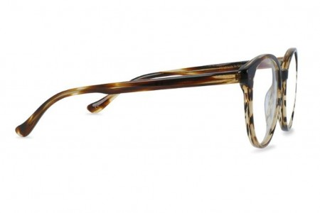 Lunettes de vue Battatura Stella 52mm B270 Striped Sassafras - profil
