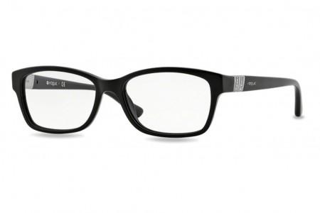 Lunettes de vue Vogue VO 2765B-W44 51mm Black - Gweleo 9af0dc062888