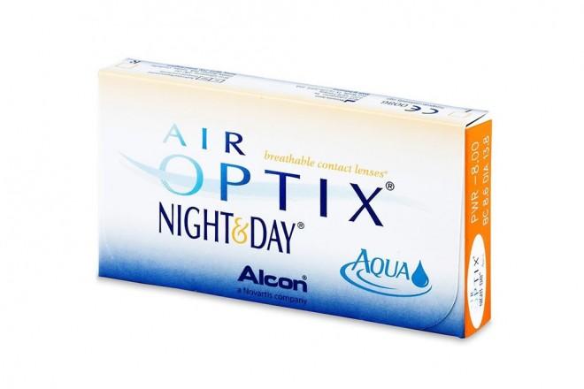 Lentilles de contact Air Optix Aqua Night and Day 6l