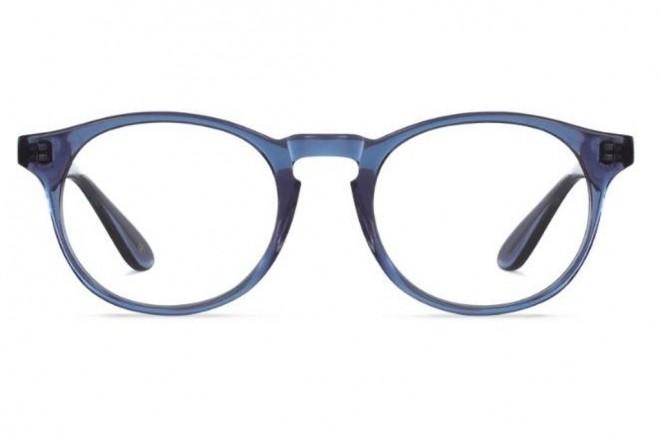Lunettes de vue Battatura Angelo 50mm B11 Light Blue Crystal - vue de face