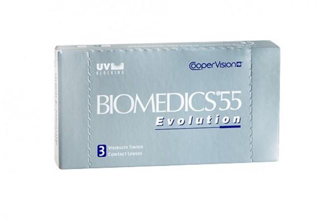 Lentilles de contact Biomedics 55 Evolution 3l