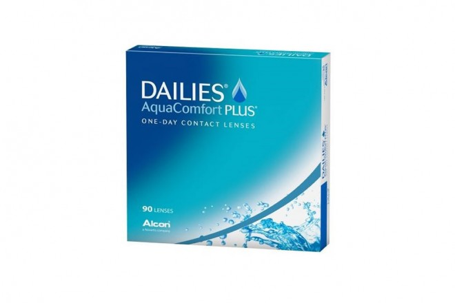 Lentilles de contact Dailies Aqua Comfort Plus 90l
