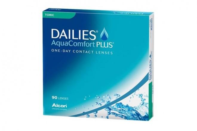 Lentilles de contact Dailies Aqua Comfort Plus Toric 90l