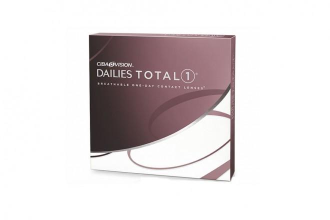 Lentilles de contact Dailies Total 1 90l