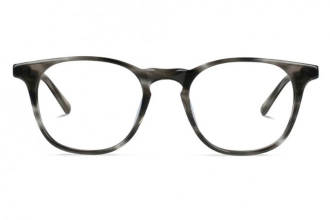 Lunettes de vue Battatura Emilio 48mm Striped Gainsboro - Face