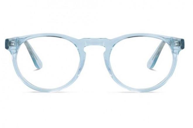 Lunettes de vue Jack & Francis Mack 47mm Crystal baby blue - vue de face