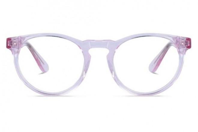 Lunettes de vue Jack & Francis Mack 47mm Crystal rose - vue de face