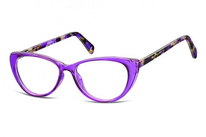 Lunettes de vue Ma 1ère Monture MPMAC19 - Crystal purple - Purple / Brown turtle