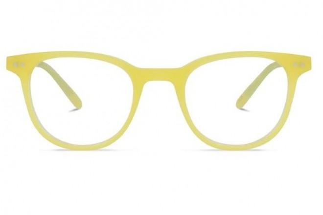 Lunettes de vue Battatura Ottavio 46mm Matt Pineapple - Face